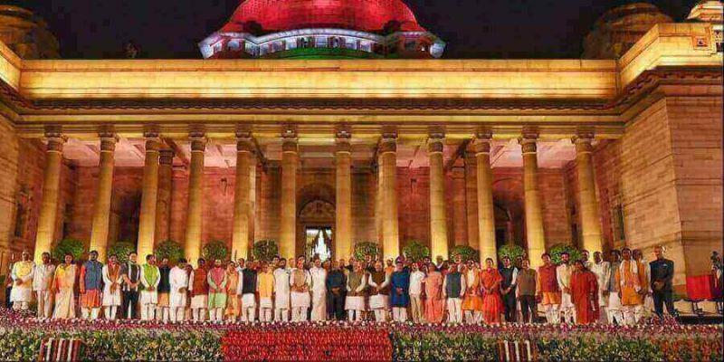 विभाग आवंटित राजनाथ सिंह बने रक्षा मंत्री ,अमित शाह को मिली गृह मंत्रालय