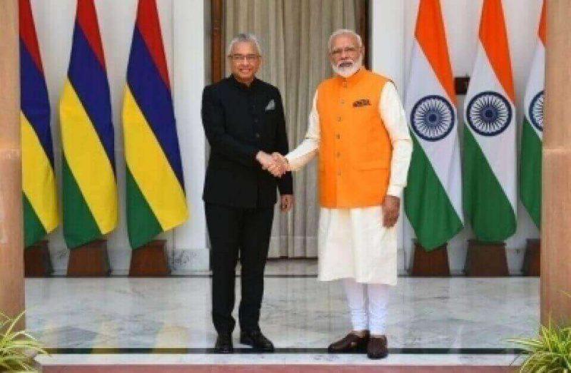 भारत, मॉरीशस द्विपक्षीय संबंधों को मजबूत करने पर सहमत