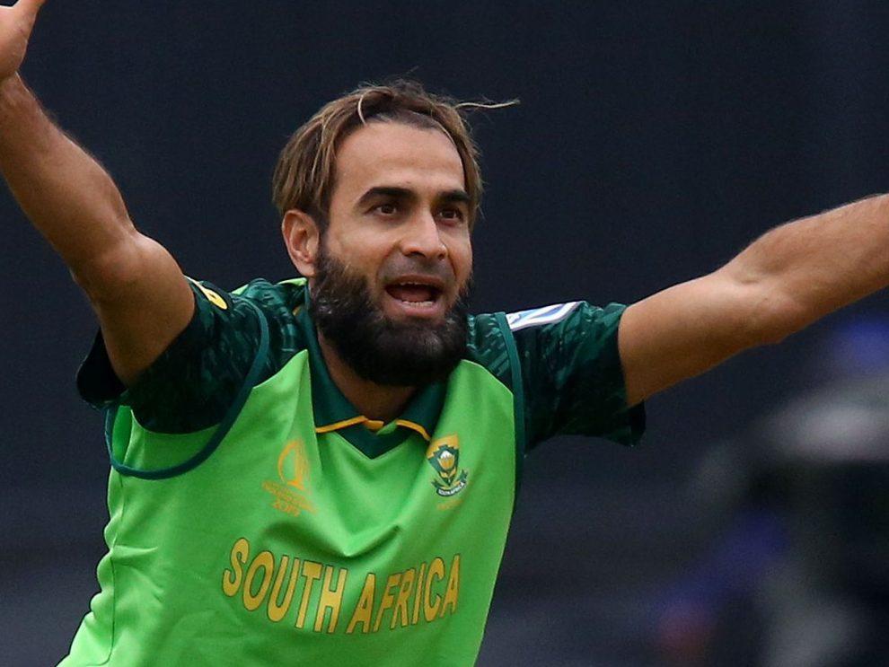 इमरान ताहिर 100 एकदिवसीय खेलने वाले दक्षिण अफ्रीका के दूसरे स्पिनर बने
