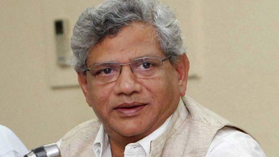सीताराम येचुरी ने पार्टियों से भाजपा के खिलाफ मिलकर काम करने की अपील की