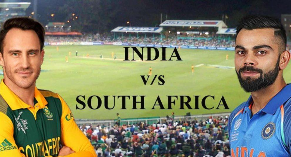 विश्व कप : पहले मैच में चोकर्स दक्षिण अफ्रीका से भिड़ेगी टीम इंडिया