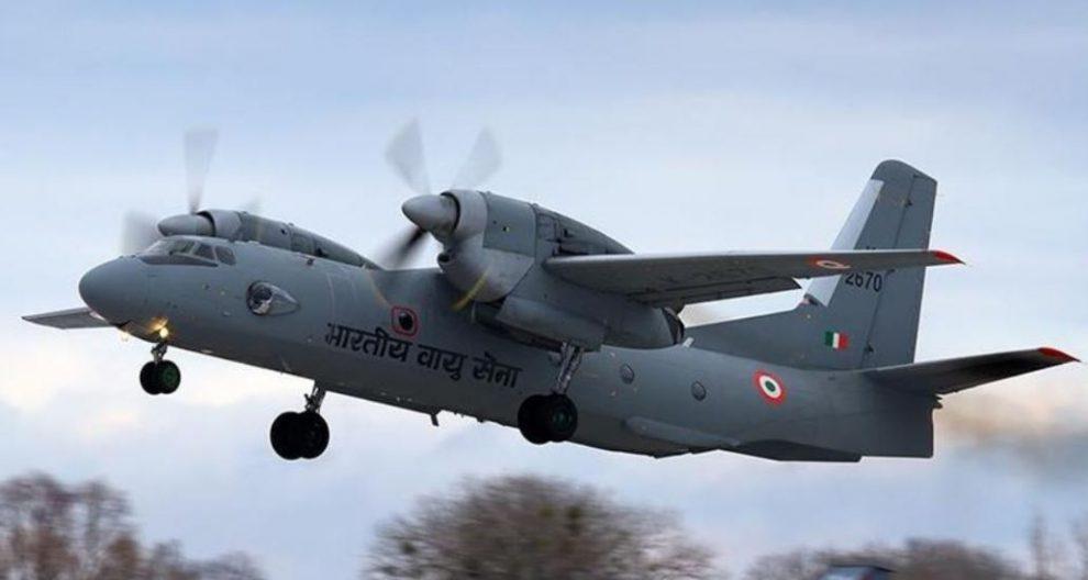 एएन-32 विमान का मलबा  अरुणाचल में दिखा : आईएएफ