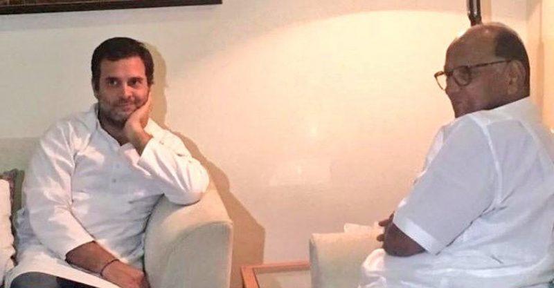 पवार, कुमारस्वामी मिले राहुल गांधी से कहा- पद न छोड़ें