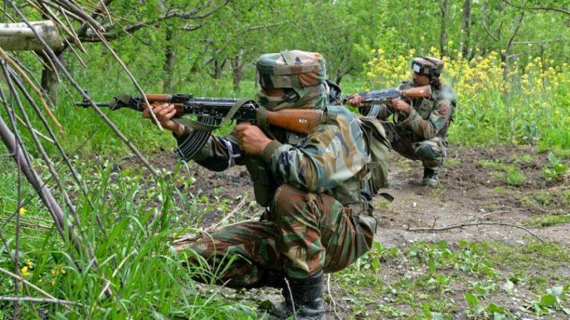 जम्मू-कश्मीर के श्रीनगर में फिर हुआ मुठभेड़ 2 आतंकवादी हुए ढेर